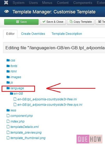 how to edit a template in joomla 3.x-step7