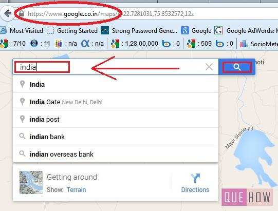 how to embed google map in joomla website-step3