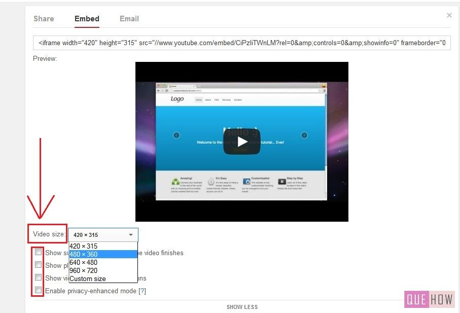 how to embed youtube video in joomla-step6