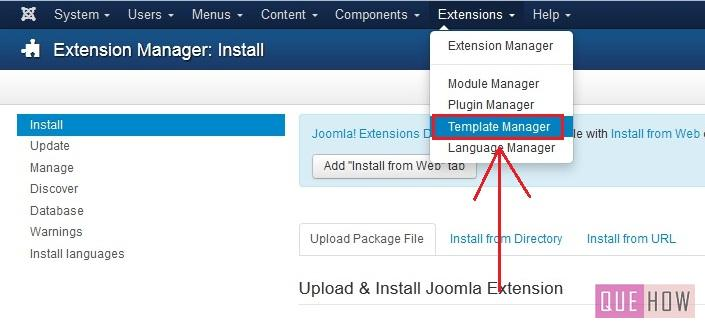 how to install a new template in joomla 3.x-step5
