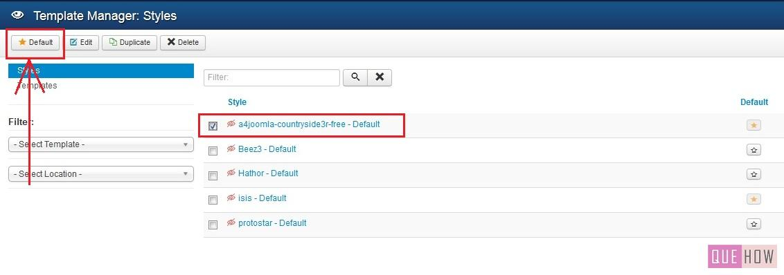 how to install a new template in joomla 3.x-step6