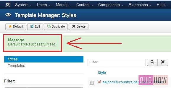 how to install a new template in joomla 3.x-step7
