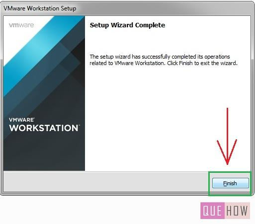How to install Vmware Workstation in Windows7-step12