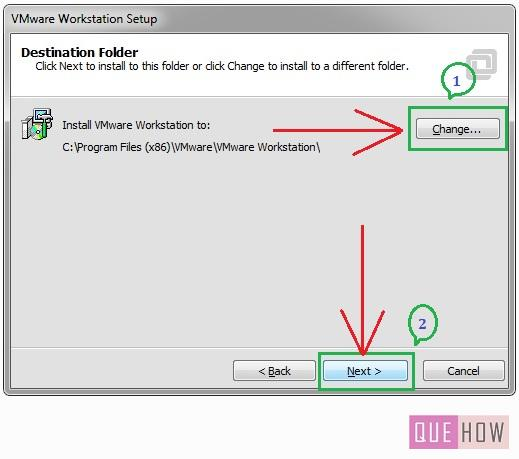 How to install Vmware Workstation in Windows7-step7