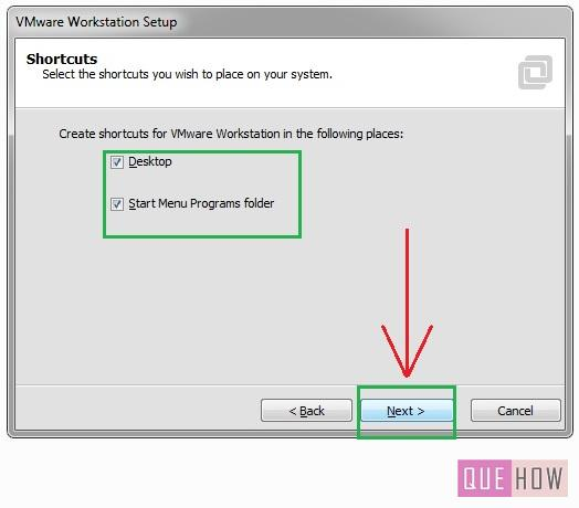 How to install Vmware Workstation in Windows7-step9