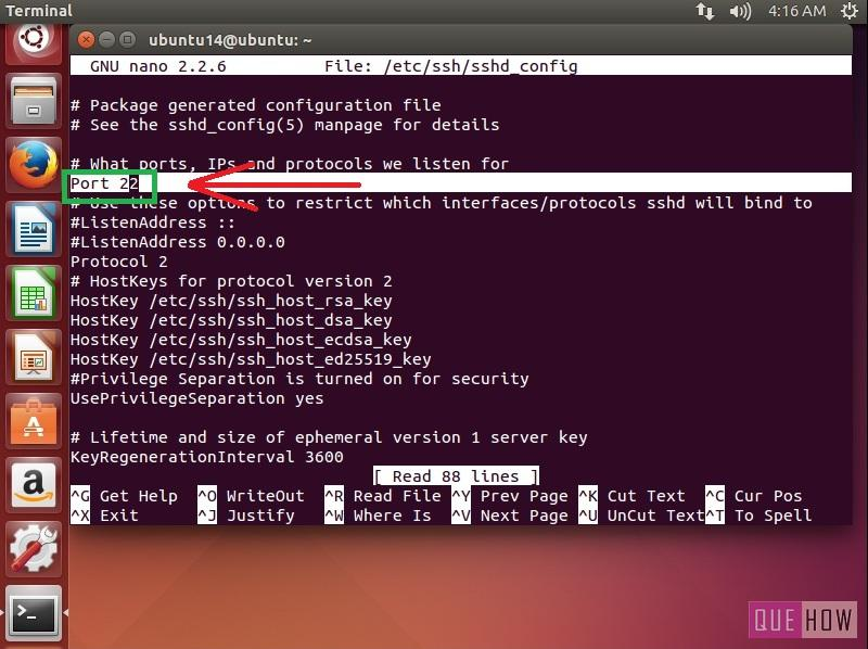 How to Install and Configure SSH (Secure SHell) in Ubuntu