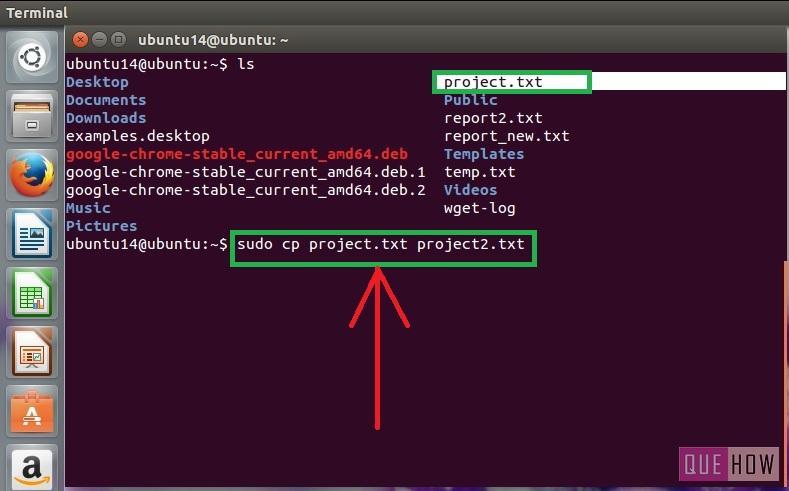 in ubuntu terminal how to change directory