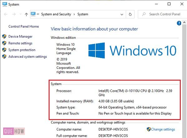 Check RAM Size and System Type in Windows 10-2