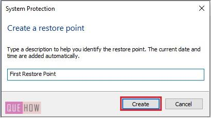 Create a System Restore Point in Windows 10-6