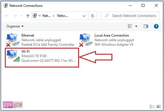 find MAC address of a computer system in Windows 10-10