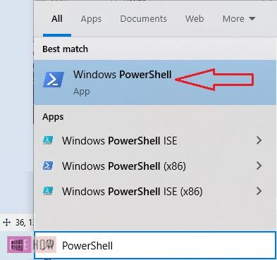 find MAC address of a computer system in Windows 10-19