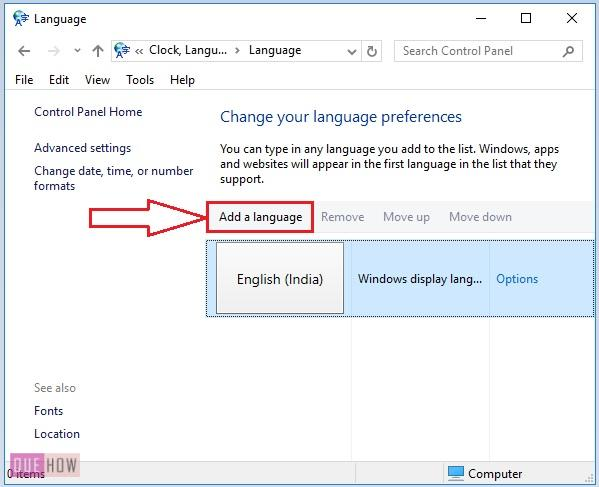 Change-default-language-in-windows-10-10