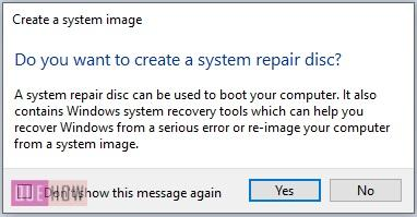 Create System Image Backup in Windows 10-9