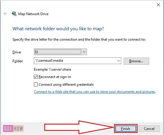Map a Network Drive in Windows 10 -7