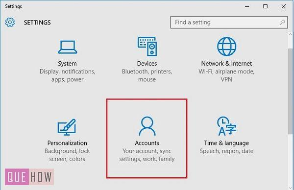 windows 10 how to create a user