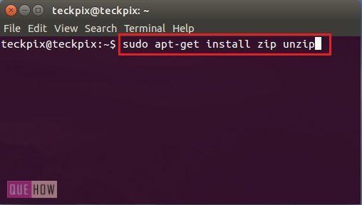 how-to-create-zip-file-using-terminal-in-ubuntu-14-04