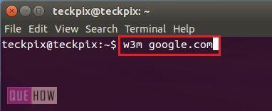 how-to-use-terminal-as-a-browser-in-ubuntu-14-04