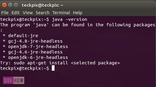 How to check and install java in Ubuntu 14 04 - QueHow