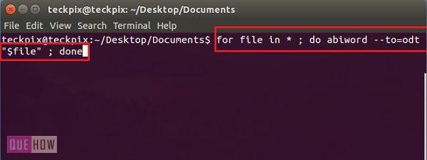 how-to-batch-convert-text-documents-in-ubuntu-14-04