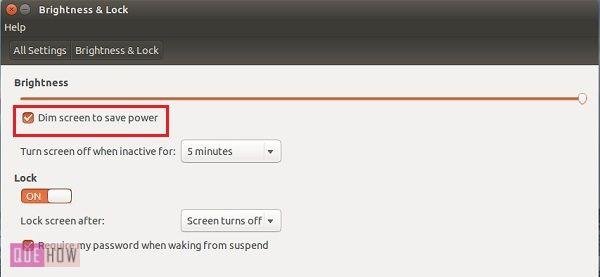 How to Turn Off Inactive display in Ubuntu 14 04 - Quehow