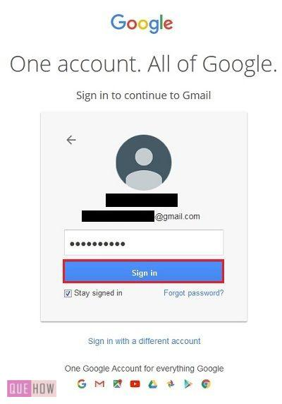 How to export contacts in gmail - QueHow