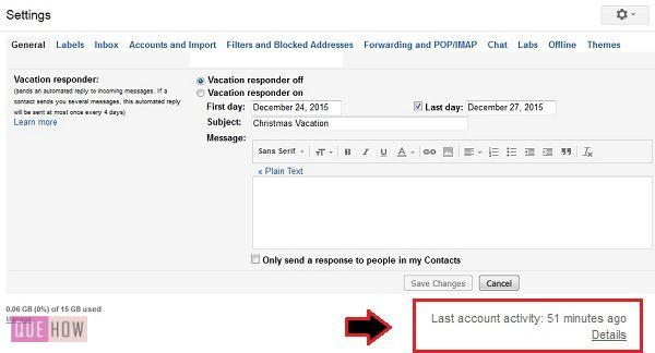 How to check gmail login history - QueHow