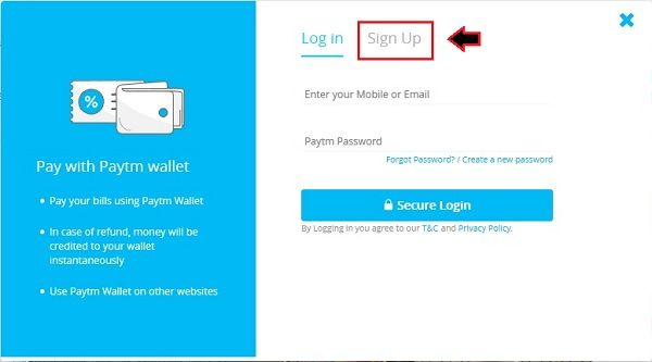 how-to-create-a-paytm-account