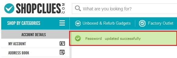how-to-change-shopclues-account-password