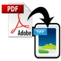 How to convert PDF to TIFF