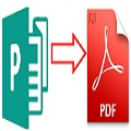 How to convert a Microsoft Publisher file into a PDF document