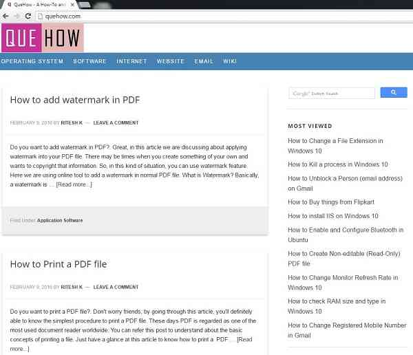 Turn Web Pages Into Pdf Documents: How To Convert Web Page To PDF File