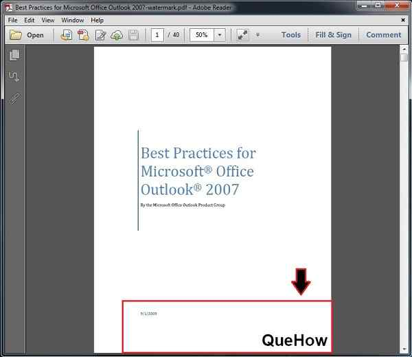 how to add watermark in word
