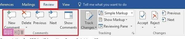 how-to-track-changes-in- MS-word-2016-step-4