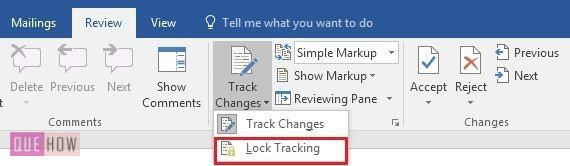 how-to-track-changes-in- MS-word-2016-step-5
