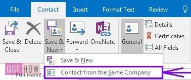 How-to-add-contacts-in-Outlook-2016-steps-2-4