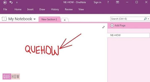 How-to-conver-handwritting-to-text-in-onenote-2016-step-3