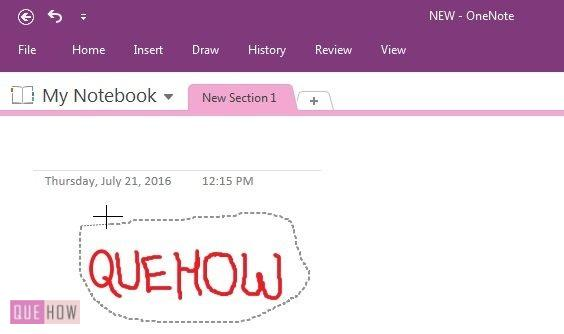 How-to-conver-handwritting-to-text-in-onenote-2016-step-6