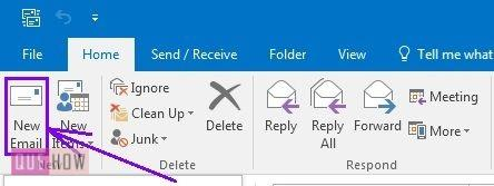 How-to-set-auto-reply-in-Outlook-2016-step-1