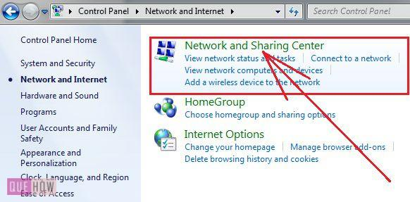 How to check IP address in Windows 7 method 2 step 2