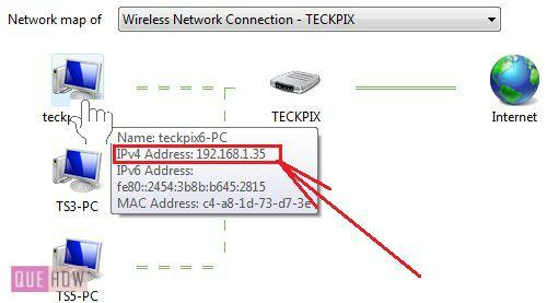How to check IP address in Windows 7 method 5 step 2