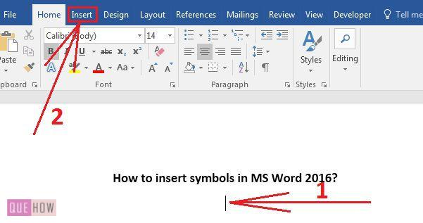 how-to-insert-symbols-in-ms-word-2016-step-1