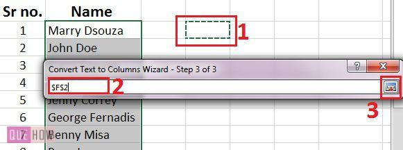 how-to-split-text-of-cells-in-ms-excel-2016-step-6