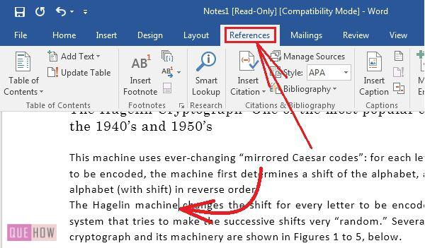How-to-create-and-insert-citaion-in-MS-Word-2016-step-1