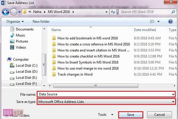 how-to-use-mail-merge-in-ms-word-2016-step-5