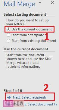 how-to-use-mail-merge-in-ms-word-2016-step-8
