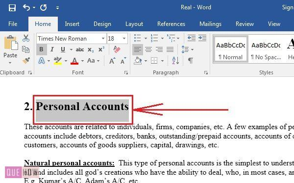 how-to-add-or-delete-bookmark-in-MS-Word-2016-step-1