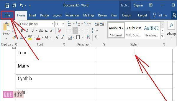 how-to-insert-clickable-checkbox-in-ms-word-2016-step-01