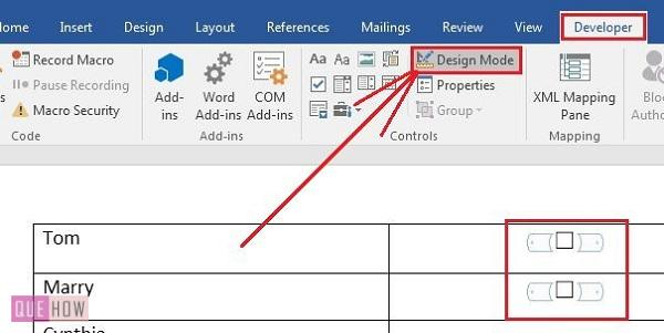 how-to-insert-clickable-checkbox-in-ms-word-2016-step-06