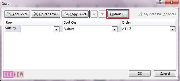 how-to-sort-data-in-ms-excel-2016-step-2