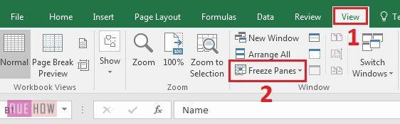 how-to-freeze-row-and-column-in-ms-excel-in-2016-step-2
